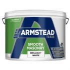 Armstead Endurance Smooth Masonry Brilliant White 10 Litres
